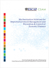 Mechanization Solutions for Improved Livestock Management and Prevention & Control of Zoonotic Diseases