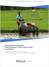 Mechanization of Agriculture: Market Dynamics in China, India, Sri Lanka and Thailand